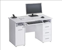 Camden Icy White Desk