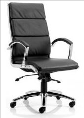 Dynamic Classic High or Medium Back Leather Chair