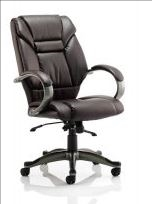 Dynamic Galloway Black, Brown or Cream Leather Armchair