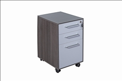 Executive 3 Drawer Under Desk Mobile Pedestal